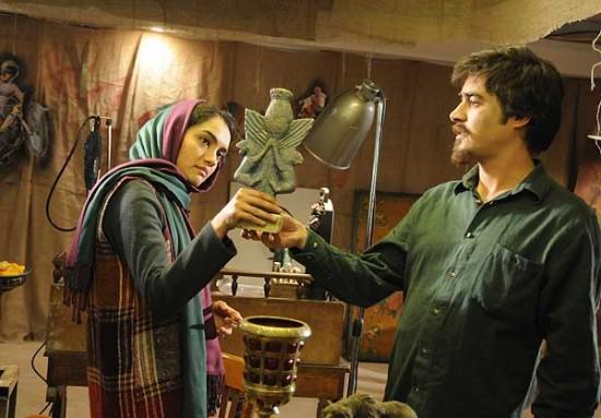 """شهاب حسینی و میترا حجار در نمایی از """"آناهیتا"""""""