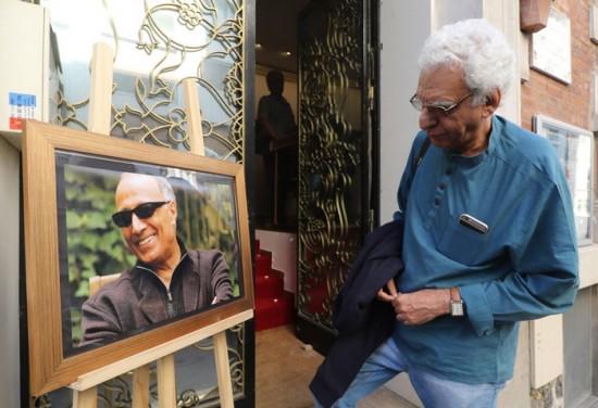 پوراحمد در یادبود کیارستمی در پاریس