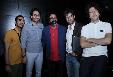 شهاب حسینی و جواد یحیوی