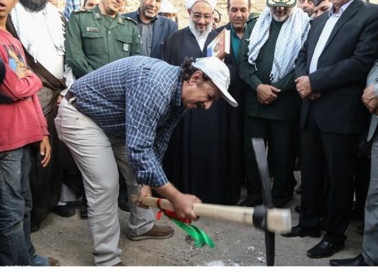 مجید مجیدی در جمع جهادگران بسیجی