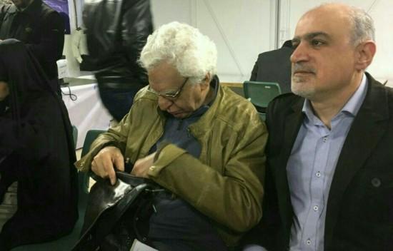 علی قائم مقامی و کیومرث پوراحمد در فرمانداری تهران