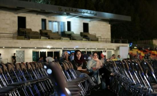 صندلیهای خالی در جشن بزرگ خانه سینما