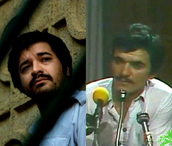 """حسین تکبعلیزاده(راست)+نمایی از """"جنایت بی دقت"""""""