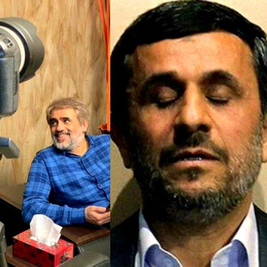 محمود احمدی نژاد+سعید ابوطالب
