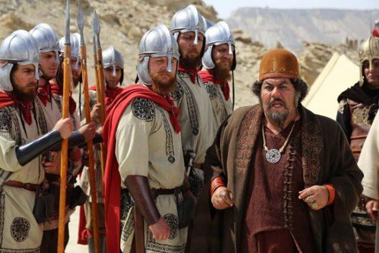 فرهاد اصلانی در نمایی از سریال سلمان