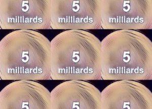 ۵میلیارد آیکون سرمایه پول
