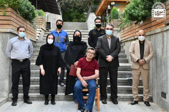 رضا رویگری در موزه سینما